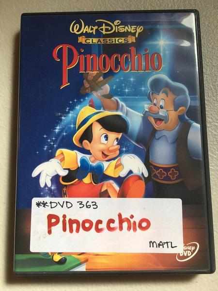 DVD363: Pinocchio