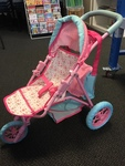 D1706A: ELC Cupcake 3 Wheeled Pushchair with changing bag