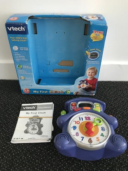 E137: V Tech My First Clock