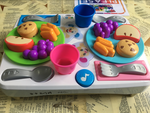 D1709: Fisher Price Say Please Snack Set