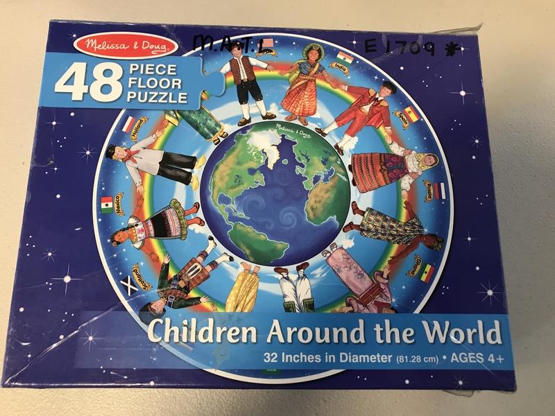E1709: Melissa &Doug 48pcs Children Around the World