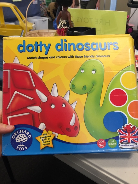 G104: Orchard Toys - Dotty Dinosaurs