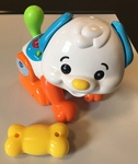 B1723: Vtech Shake & Move Puppy - Puppy with yellow bone (12-36 months)