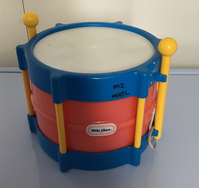 M2: Little Tikes Drum