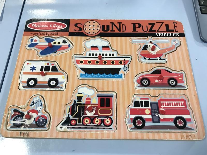 P14: M&D Sound Puzzle - Vehicles