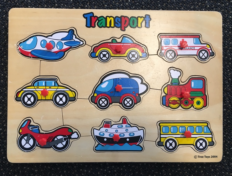 P22A: Transport Puzzle with knobs