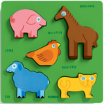 Dp403: Farm Animals Chunky Puzzle