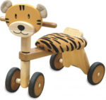 A60: Wooden Tiger Ride On
