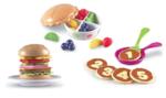 Ea148: Burger Shapes, Fruit Pie, Pancakes Counting Set