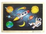 Dp50: Space Wooden Tray Puzzle