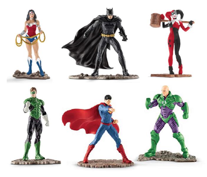 Ea209: Justice League Super Hero Set A