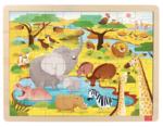 Dp140: Savannah Animals Puzzle