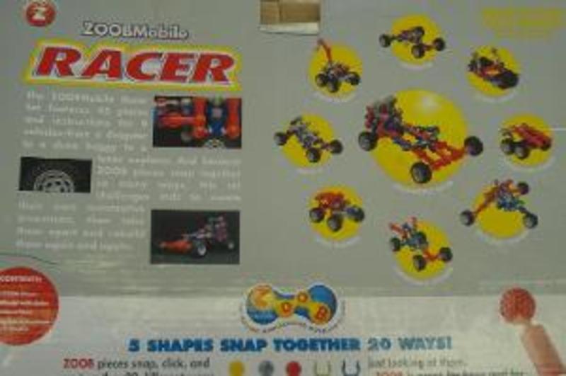 B29: Zoob Mobile Racer & Zoob Pieces