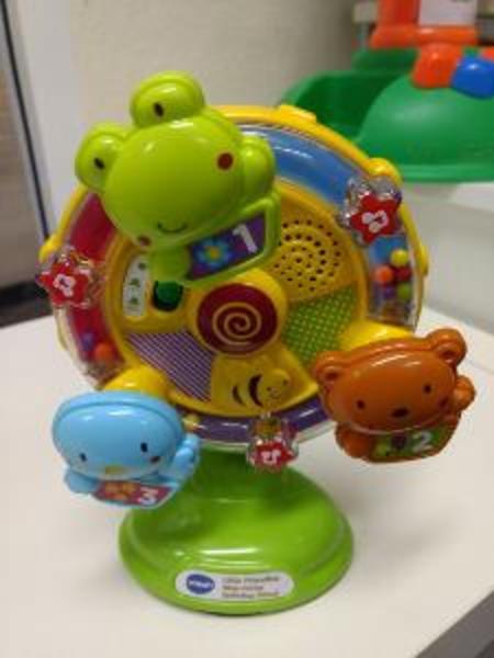 R268: Sing along spinning wheel