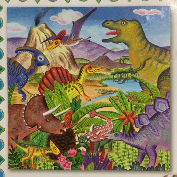 J55: Dinosaur Island Puzzle