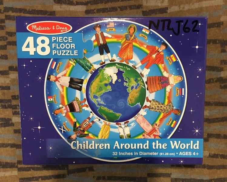 J62: Children Around the World Puzzle