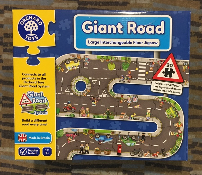 J66: Giant Road Puzzle