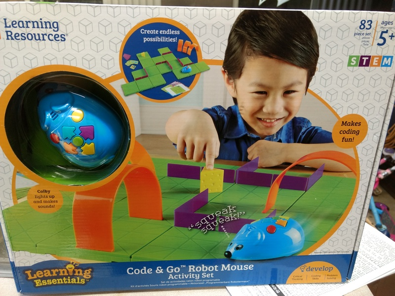 RE23: STEM Code and Go Robot Mouse Activity Set