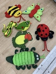 I283: Bugs and Critters Hand Puppets