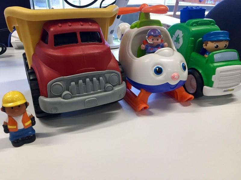 E5015: Transport Play Set