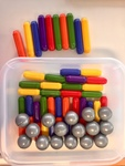 C311: SmartRod Magnetic Sticks 64 Piece Set
