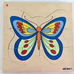 P2001: Butterfly puzzle (4 layers)