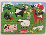 P1010: Farm animal inset puzzle