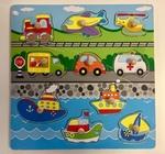 P1012: Transport Inset Puzzle