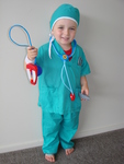 J37: SURGEON/DOCTOR DRESSUP (3YEARS AND UP)