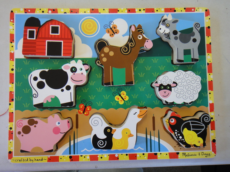 B209: Farm Puzzle Milissa and Doug