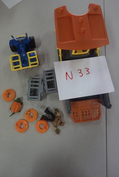 N33: IMAGINEXT SAFARI RESCUE BOAT (3-8)