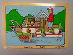 B29: Boat 2 layer Puzzle