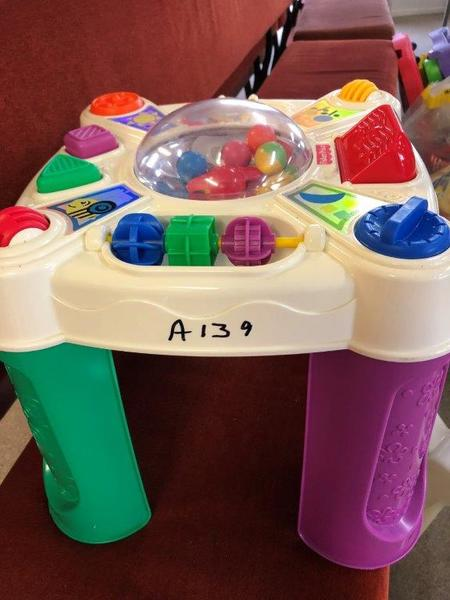 A139: Fisher Price Learning Table