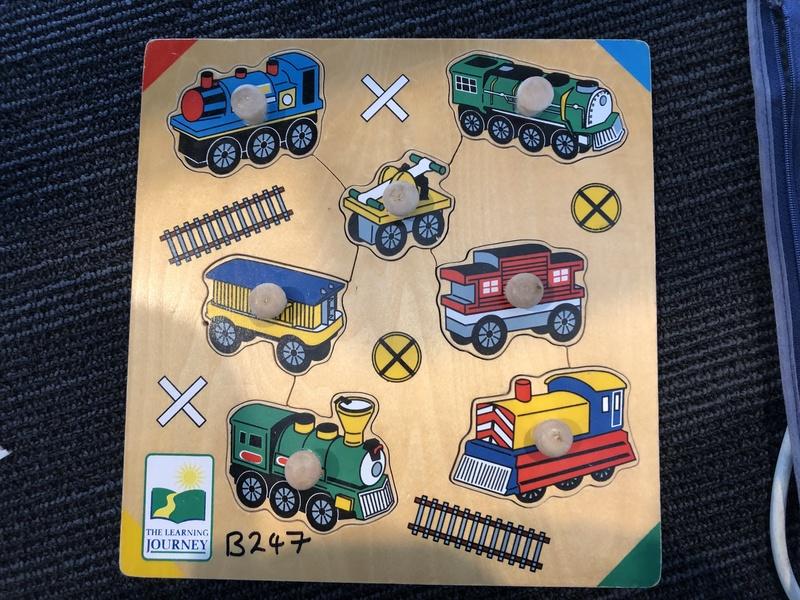 B247: THOMAS TRAIN PUZZLE