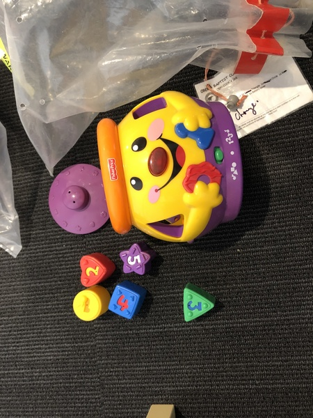 A136: FISHER PRICE MUSICAL SHAPE SORTER