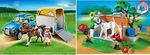 4: Playmobil Horse Float & SUV