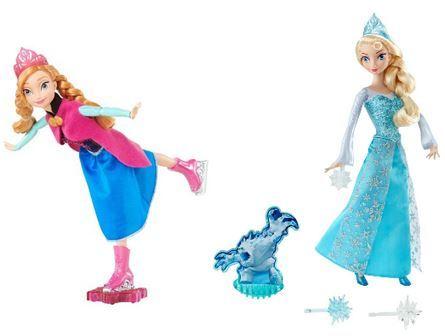 627: Anna and Elsa Doll Set