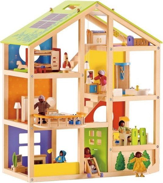 968: Hape Dollshouse and Furniture