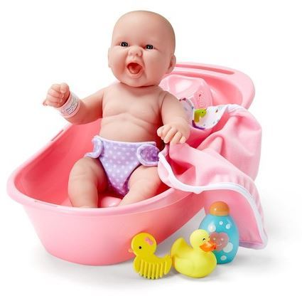 1163: Newborn Bath Baby