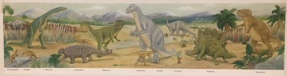 2097: Dinosaur Floor Puzzle