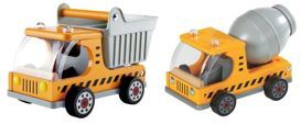 2215: Hape Truck and Concrete Mixer