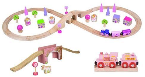 1516: Bigjigs - Figure of Eight Train Set
