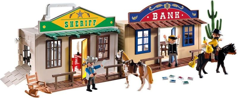 904: Playmobil - Western City