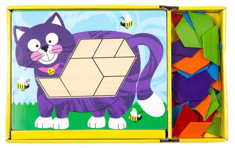 9003: Melissa and Doug Animal Pattern Blocks