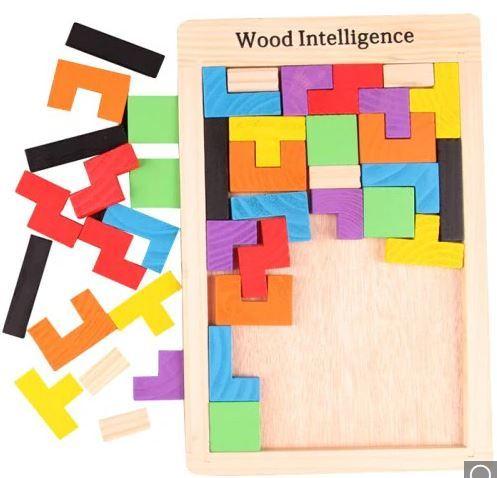 1330: Wood Intelligence Puzzle