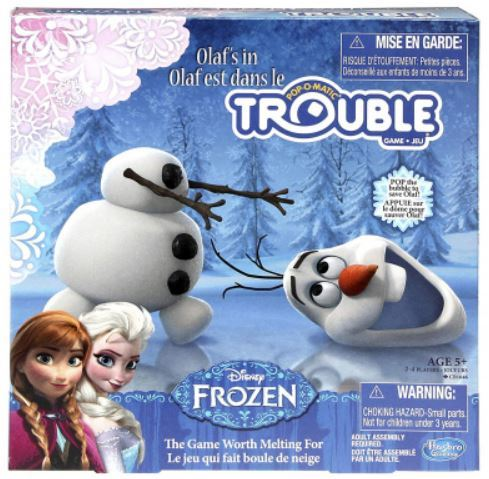 1388: Frozen Pop-Up Game