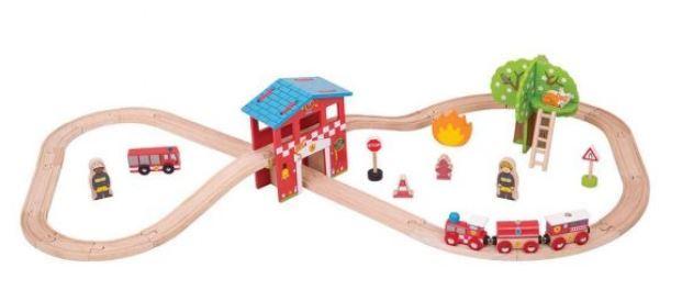 9009: Fire Train Set