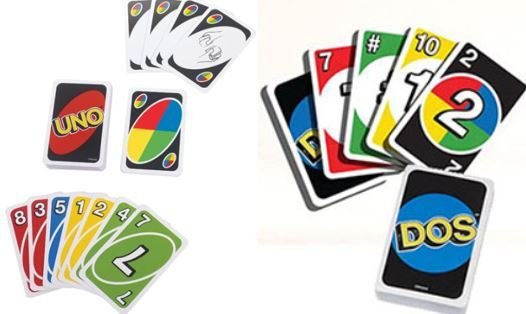 9037: Uno and Dos Card Games