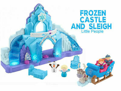 9046: Little People Frozen Castle and Sleigh