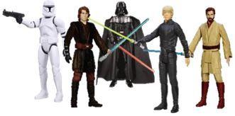 387: Star Wars Action Figures